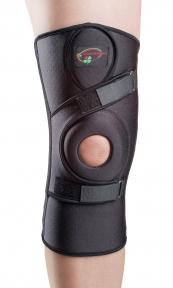Бандаж для сильной фиксации колена с 4-мя спиральными ребрами жесткости К-1П (цена зависит от размера)