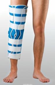 Жорстка шина для ноги з 5-ма металевими ребрами жорсткості ТУТОР-3Н