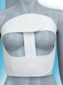 Бандаж післяопераційний роз'ємний на грудну клітку БР-4Т