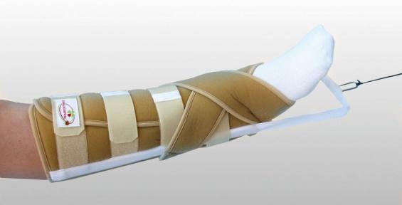 Ортез на голеностопный сустав для безспицевого вытяжения ДС-2