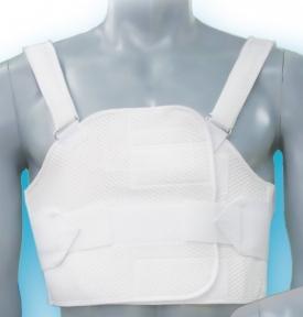 Бандаж реберный послеоперационный разъемный на грудную клетку БР-3Т