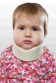 Бандаж для шеи детский, мягкий (шина Шанца) ОРТЕЗ-2Н