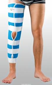 Жорстка шина для ноги з 4-ма металевими ребрами жорсткості ТУТОР-Н