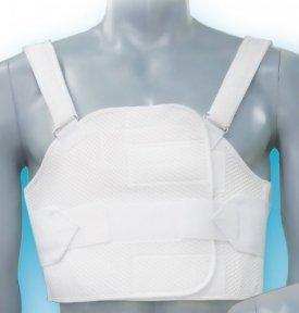 Бандаж реберний післяопераційний роз'ємний на грудну клітку БР-3Т